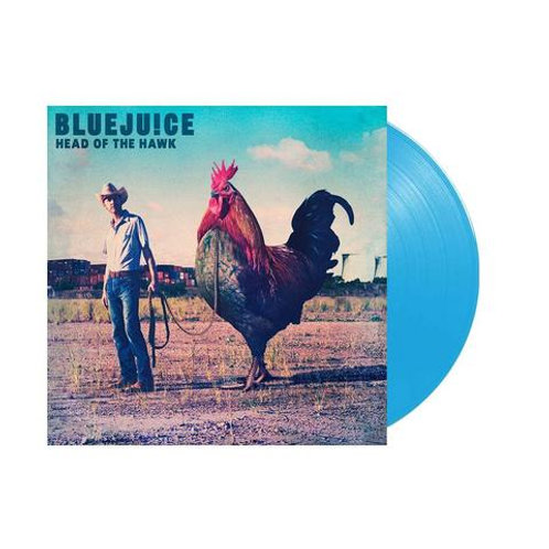 Bluejuice - Head of The Hawk (Limited Cyan Blue Vinyl Reissue)