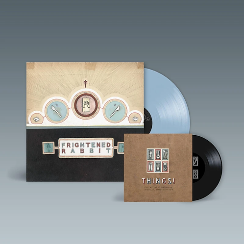"Frightened Rabbit - Winter Of Mixed Drinks (Ice Blue Vinyl + Bonus 7"")"