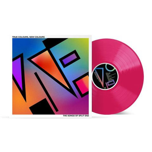 Various - True Colours, New Colours – The Songs of Split Enz (Hot Pink Vinyl)