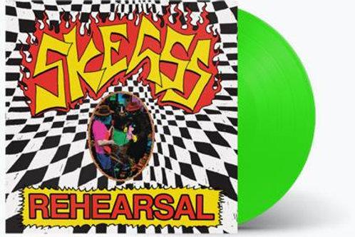 Skegss - 'Rehearsal' (Limited pressing fluorescent green vinyl)