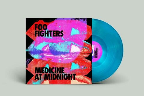 Foo Fighters - Medicine At Midnight (Indie Exclusive Blue Vinyl - Limited)