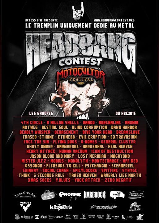 HEADBANG CONTEST PARIS
