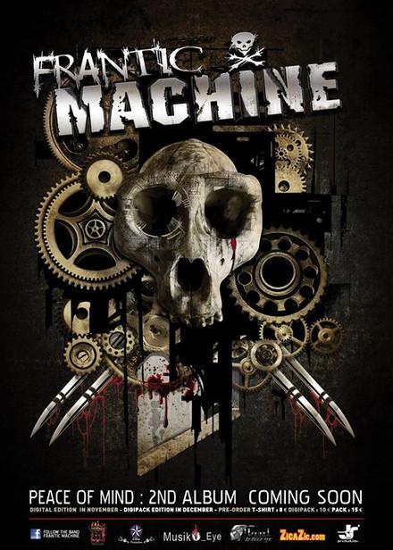 FRANTIC MACHINE ALBUM
