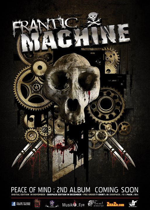FRANTIC MACHINE ALBUM