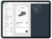 ipad- Templates selected - product detai