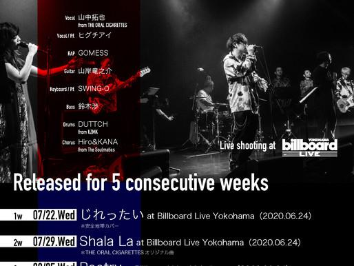 """セッションプロジェクト""""YGNT special collective""""第5弾はバンドオリジナル曲『蝋燭の私』~8/19配信リリース&YouTubeプレミア公開決定!"""