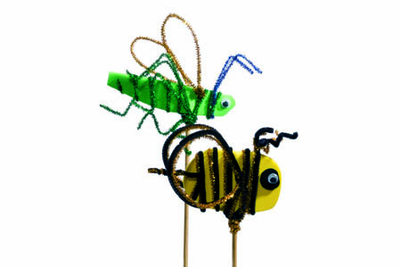 Bee and Grasshopper