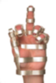 gesture was created in response to increased government restriction on artisti freedom.  It represents small acts of subversion through enforced restrictiongesture (from constrain series) - a hand gibbet created in response to increased government restriction on artisti freedom.  It represents small acts of subversion through enforced restriction