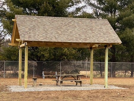 Main yard has re-opened, now with a Gazebo/Pavillion
