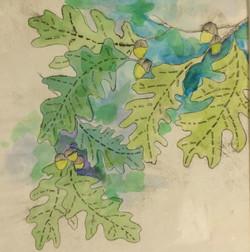 Leaf Collection Blue 3
