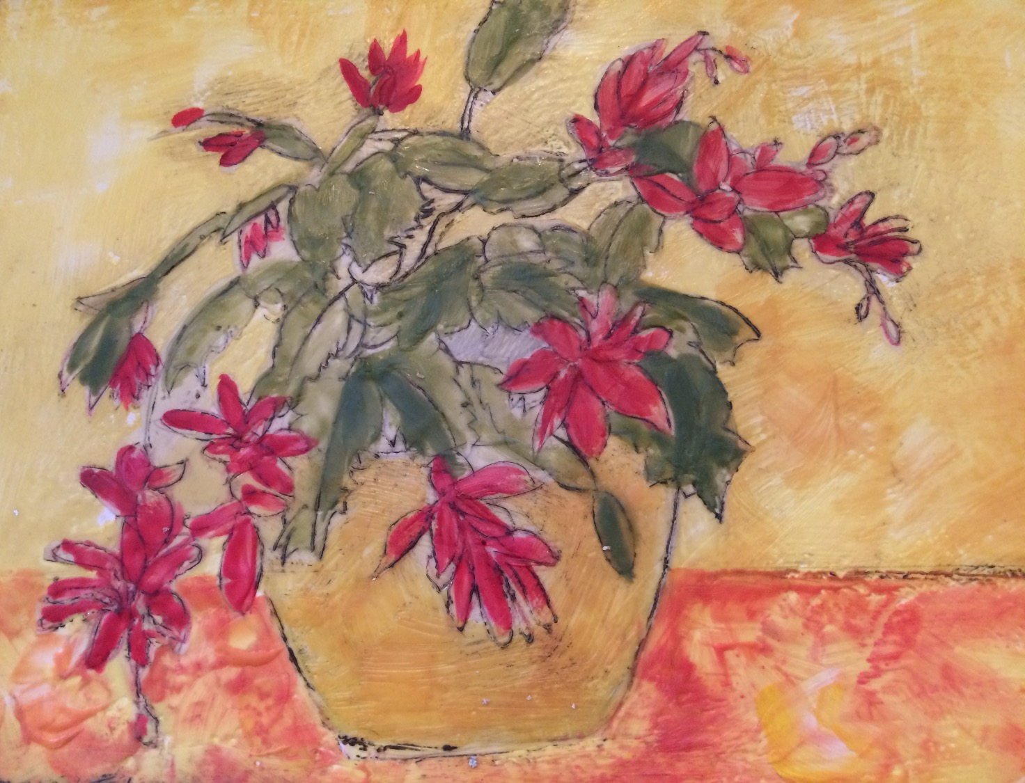 Christmas cactus  SOLD