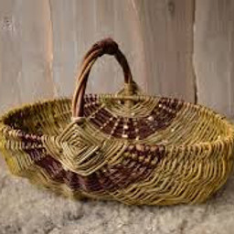 Ribbed Frame Willow Basketry