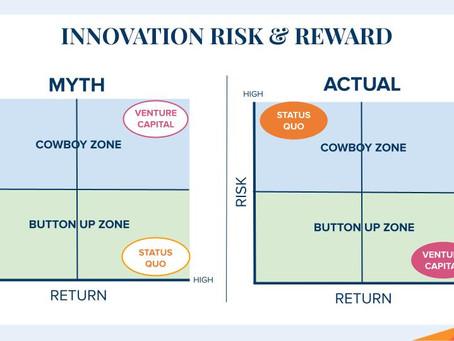 Innovation Risk, Cowboy Zone & How To Fail Forward