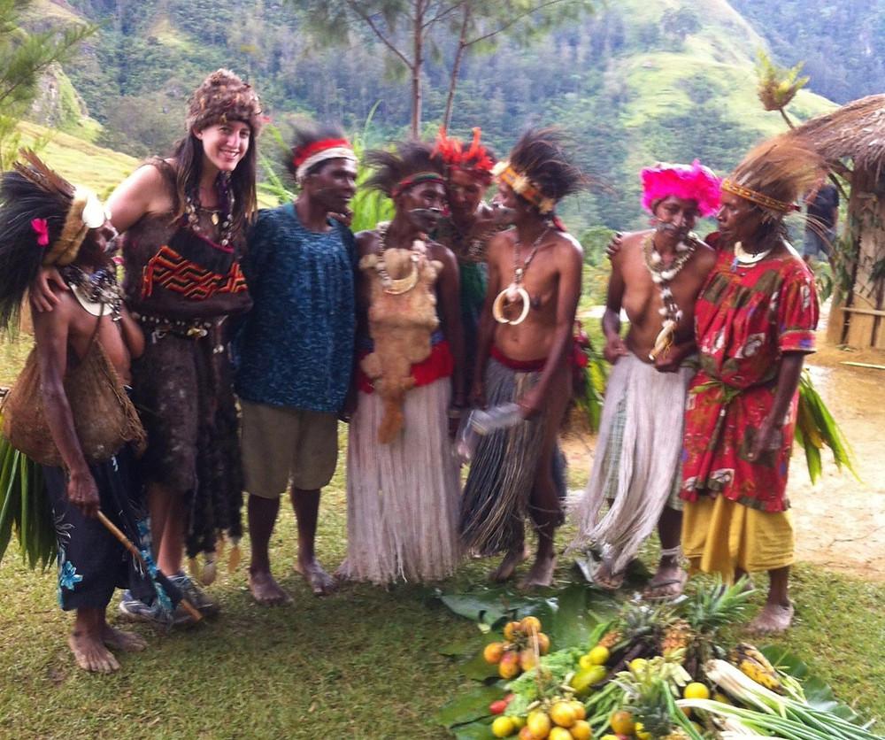 Founder & CEO Rachel Kuhr Conn in Papua New Guinea