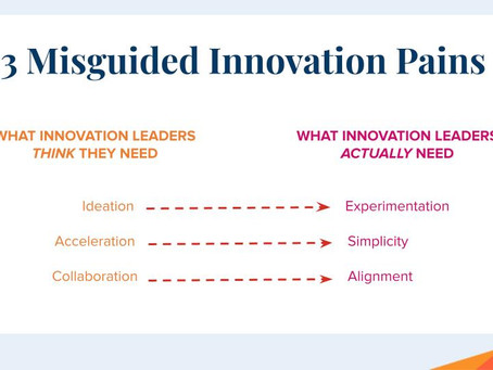 Misguided Innovation Pains and Where To Focus Instead