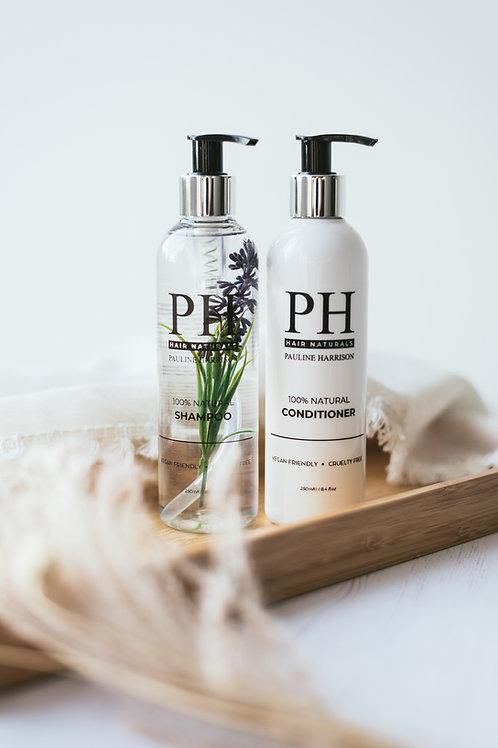 100% Natural shampoo and  Conditioner Duo* Vegan