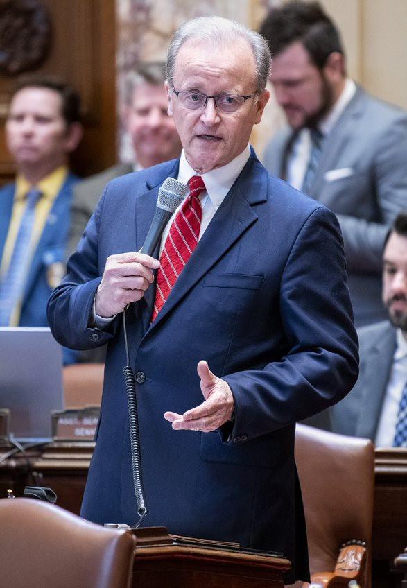 Major legislation regularly requires Senate Limmer's debate skills.