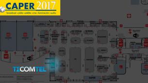 TECOMTEL presente en CAPER 2017
