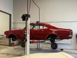 Original 1968 Bathurst Holden Monaro