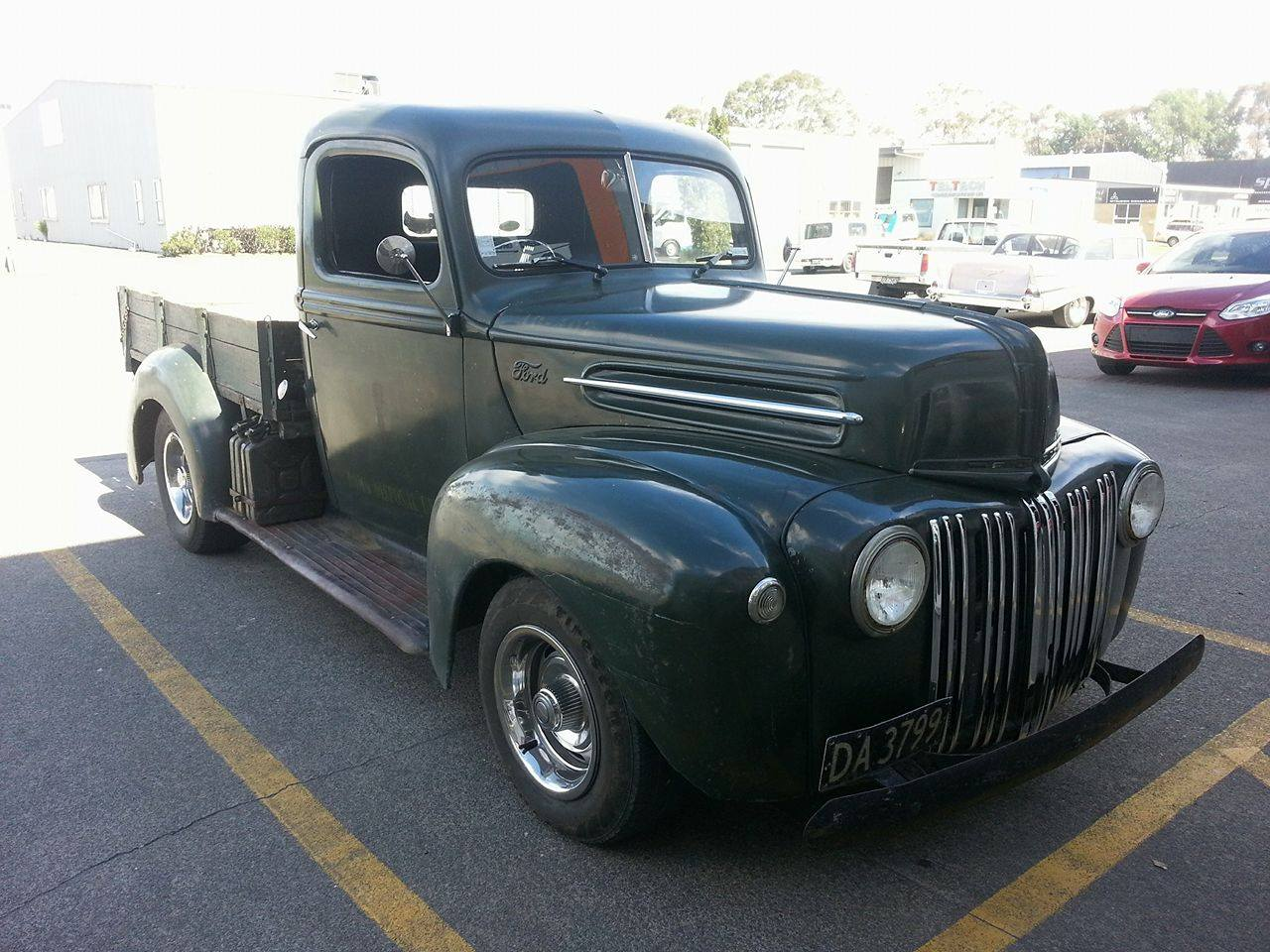 1946 Ford Jailbar