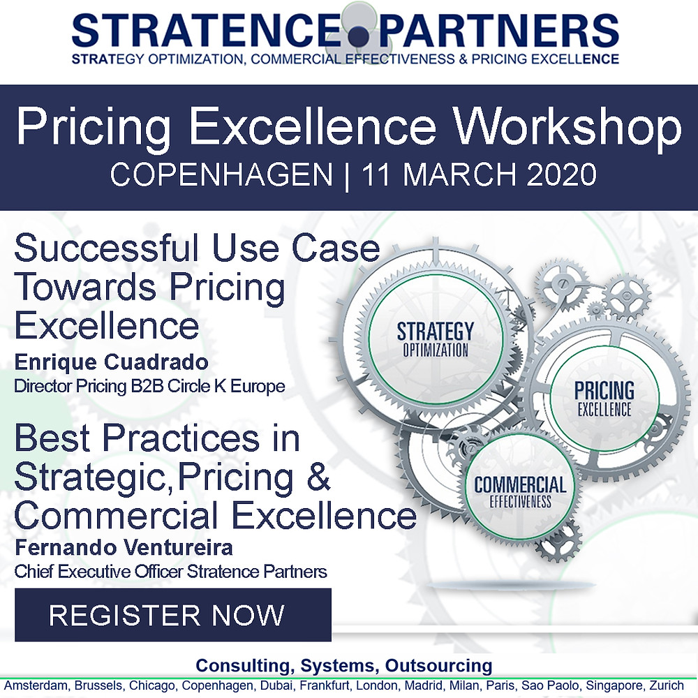 Free Strategy, Pricing & Commercial Excellence in Copenhagen