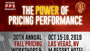 Let's meet at the Proffessional Pricing Society - Las Vegas