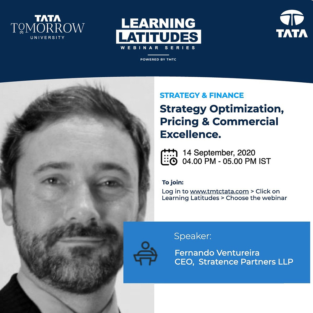 Tata Tomorrow University and Stratence Partners Webinar
