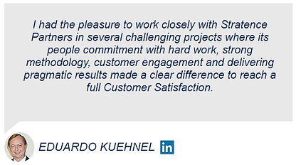 Eduardo Kuehnel Stratence Partners Refer