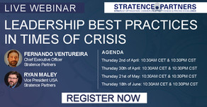 Live Webinar: Leadership Best Practices in Times of Crisis