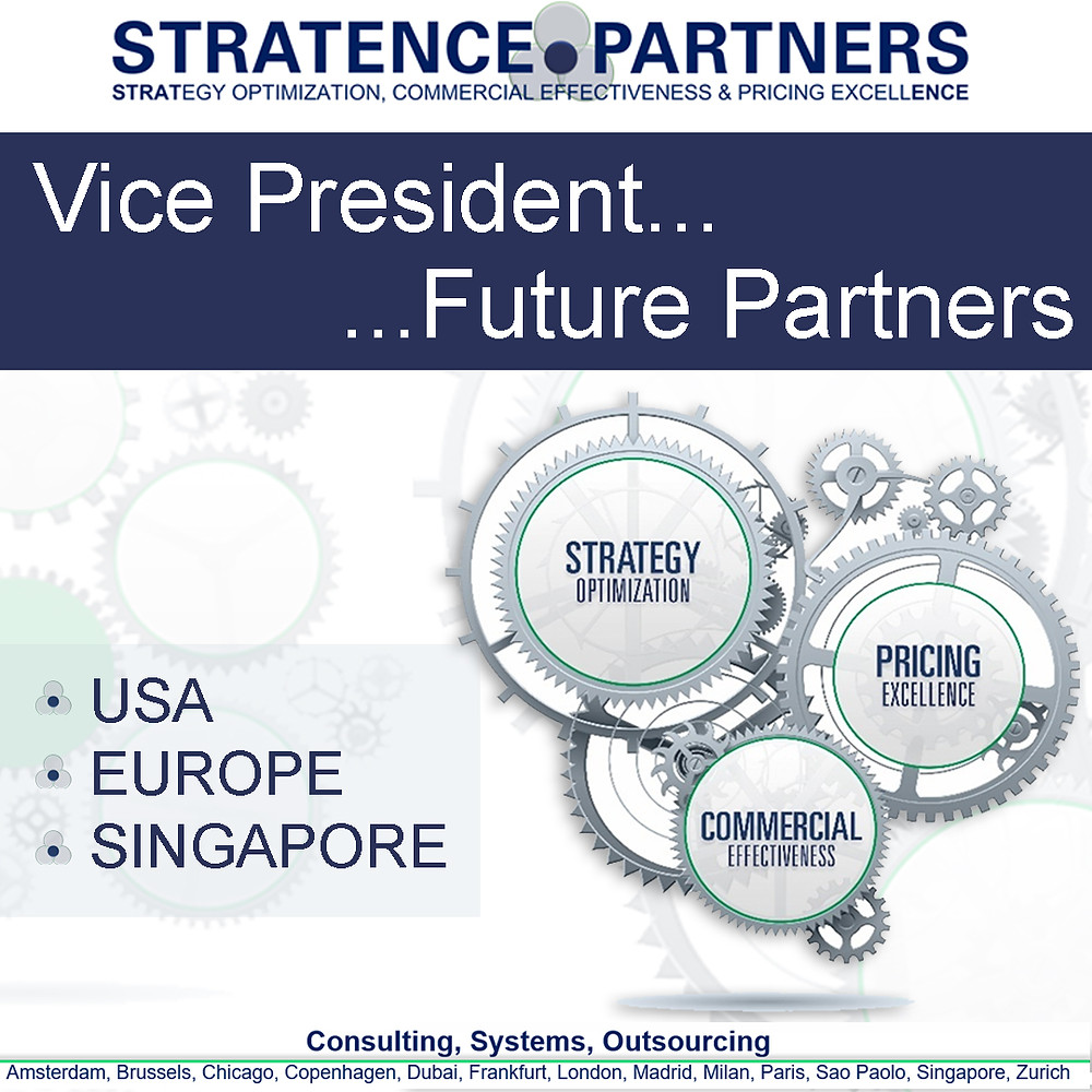 Stratence Partners Vicepresident