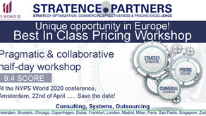 Unique opportunity in Europe! Best In Class Pricing Workshop