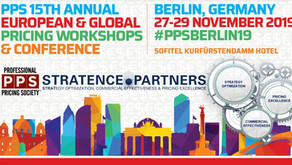 Stratence Partners will be at the PPS 15th Annual European & Global Pricing Workshops & Conference