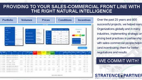 Providing to your sales-commercial front line with the right natural intelligence