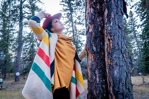 Hudson Bay Blanket Jacket