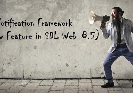 UI Notification framework