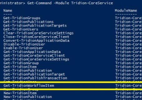 Workflow Script in PowerShell Module