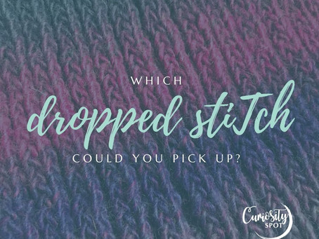 Picking up dropped stitches