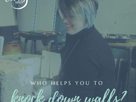 Who helps you to knock down walls?