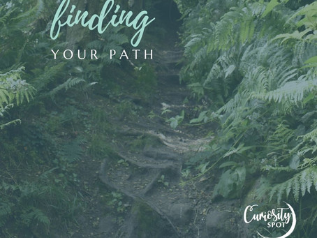 Do you need help finding your path?