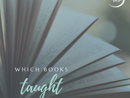 Which books taught you the most?