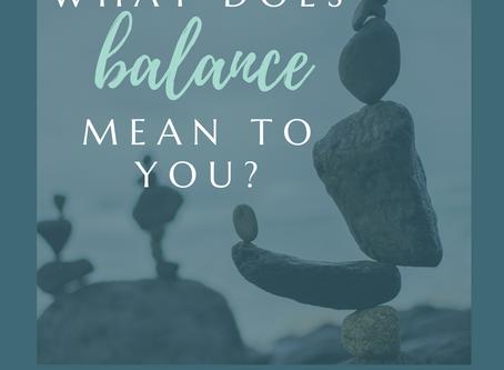 Balance and Pivot Points