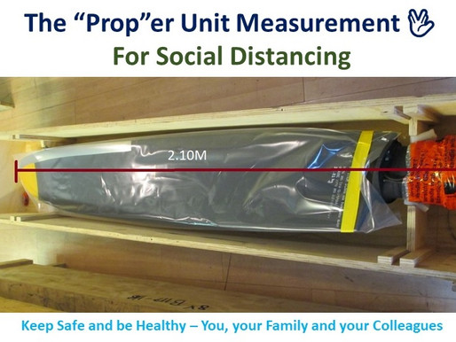 "The ""Prop""er unit measurement for Social Distancing"