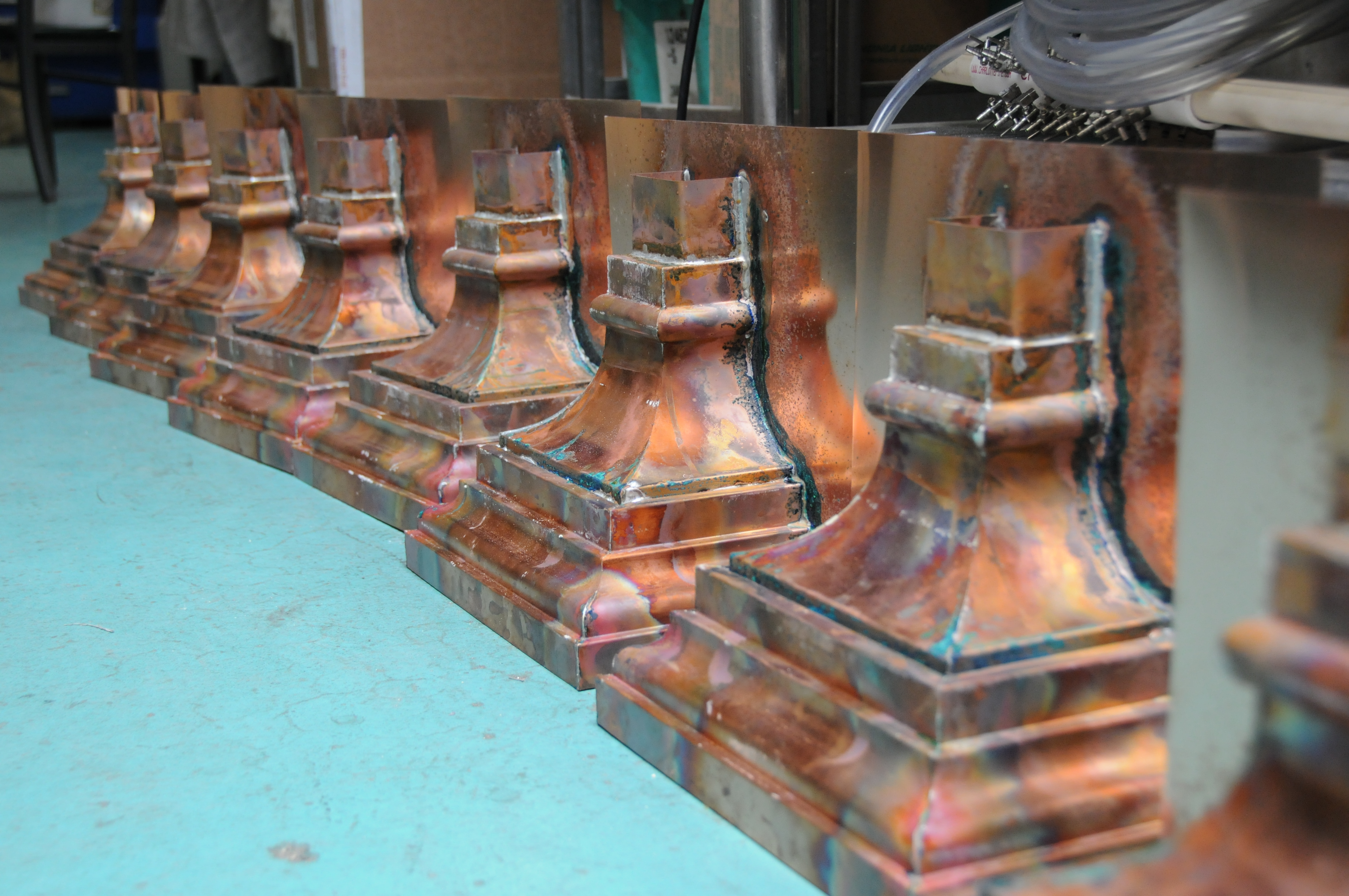 Fabrication of architectural details