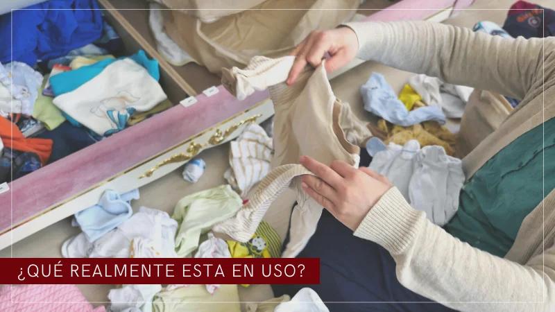 doblar ropa bebe y ordenarla
