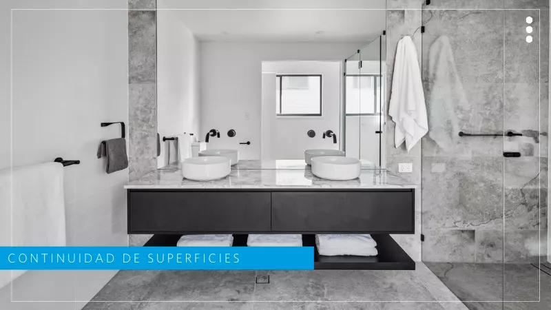 diseño baños pequeños y grandes modernos