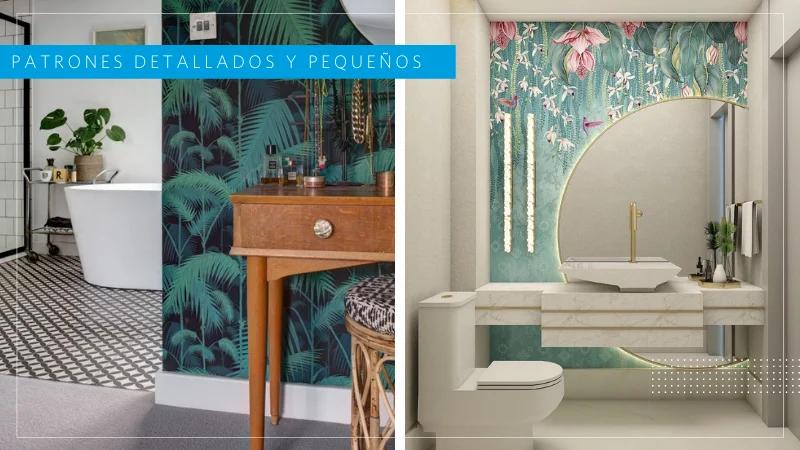 paredes para baños pequeños