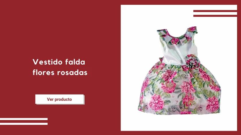 vestido florar niña