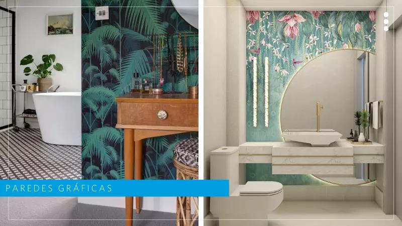 tendencias de diseño interior en baños 2021