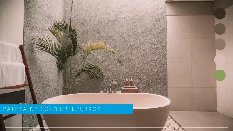 colores neutros tendencia baños modernos