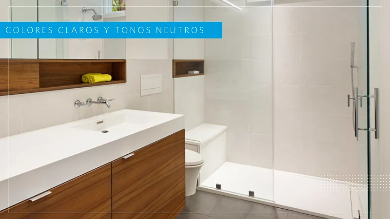 diseño baños pequeños y grandes